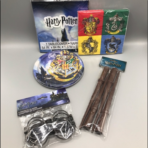 Harry Potter Party Pack Tableware & Favors